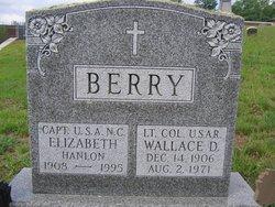 Capt Elizabeth <I>Hanlon</I> Berry
