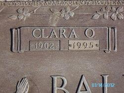 Clara O. Ballenger