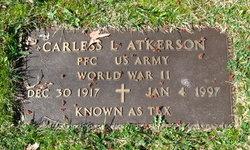 "PFC Carless Lee ""Tex"" Atkerson"