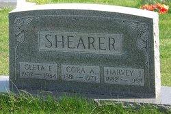 Cora Alice <I>Flory</I> Shearer