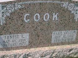 Ernest Elwood Cook