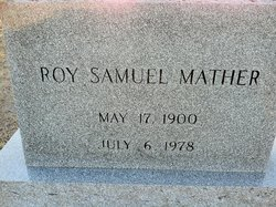 Roy Samuel Mather