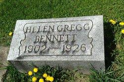 Helen <I>Gregg</I> Bennett