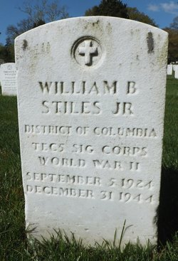 William B Stiles, Jr