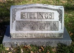 Annie L <I>Aycock</I> Billings