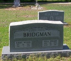 Eula Lee <I>Seward</I> Bridgman