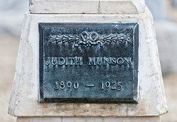Judith Rosina <I>Blomgren</I> Munson
