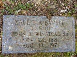 Sallie A. <I>Battle</I> Winstead