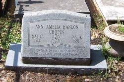 Ann Amelia <I>Hanlon</I> Chopin