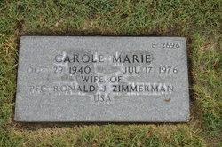 Carole Marie Zimmerman