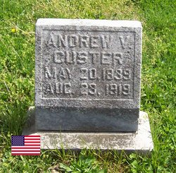 Pvt Andrew V. Custer