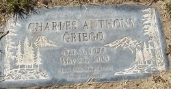 """Charles Anthony """"Charlie"""" Griego"""