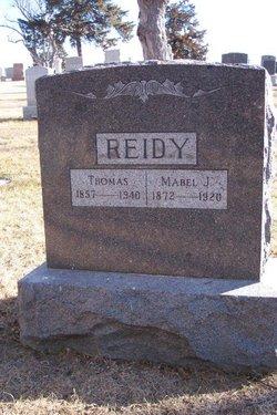Mabel J. <I>Robinson</I> Reidy