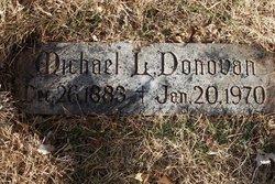 Michael L Donovan