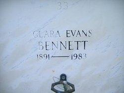 Clara <I>Evans</I> Bennett
