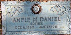 Annie Maors <I>Daugherty</I> Daniel