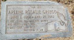 Arlene Rosalie Griego
