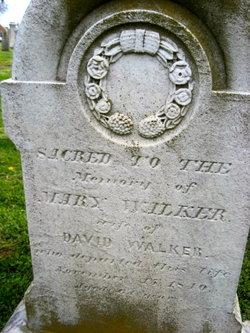 Mary <I>Hall</I> Walker