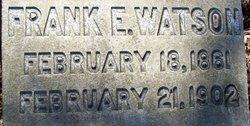 Frank Ellsworth Watson