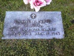 Sgt Walter Edgar Klapp