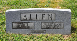 """Zara Thomas """"Zerrie"""" Allen"""