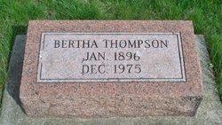 Bertha Lavina <I>Thrasher</I> Thompson