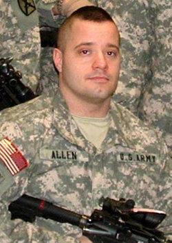 """Sgt Nekl Bruce """"Nick"""" Allen"""