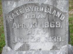 "Katherine ""Kate"" <I>Byrd</I> Bland"