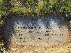 Bartholomew P O'Malley