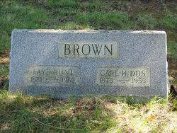 Faye <I>Hunt</I> Brown