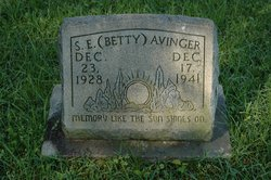 "Selena Elizabeth ""Betty"" Avinger"