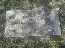 John Hough Aldinger Sr.