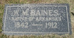 Sgt William Martin Baines