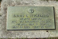 Ennis L Stickland
