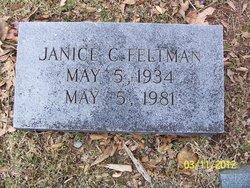 Janice C. <I>Gilliland</I> Feltman