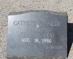 Catherine Nell Baskin