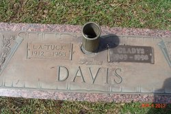 Gladys <I>Ashley</I> Davis