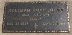 Holeman Hoyle Hicks