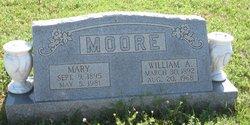 Mary <I>Walker</I> Moore