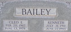 Kenneth Oliver Bailey