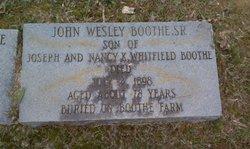 John Wesley Boothe Sr.