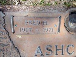 """Fredrick Henry """"Fred"""" Ashcraft"""