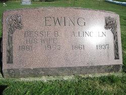 Bessie Belle <I>Morgan</I> Ewing