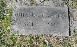 Johanna <I>Johnson</I> Hawkins