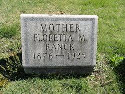 Floretta M. <I>Kissell</I> Ranck