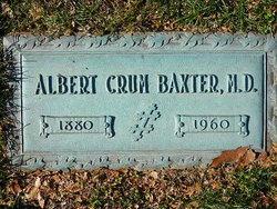 Dr Albert Crum Baxter