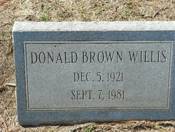 Donald Brown Willis