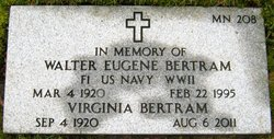 Walter Eugene Bertram