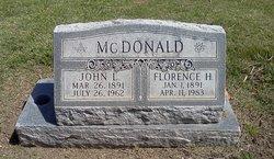 Florence Helen <I>Vincent</I> McDonald