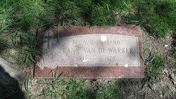 Frank Van De Warker, Sr